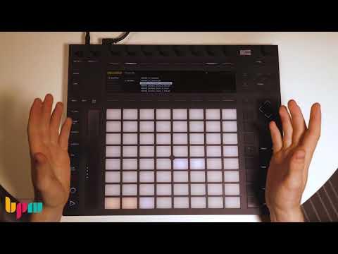 אייבלטון פוש 2, עיצוב מכונת תופים (Drum Rack)