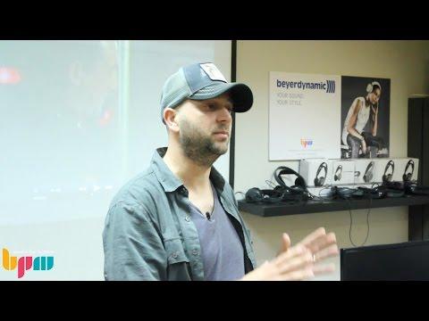מוזיקה לסרטים ומשחקי מחשב – רועי קופרווסר מדגים יצירת מוזיקה לקולנוע