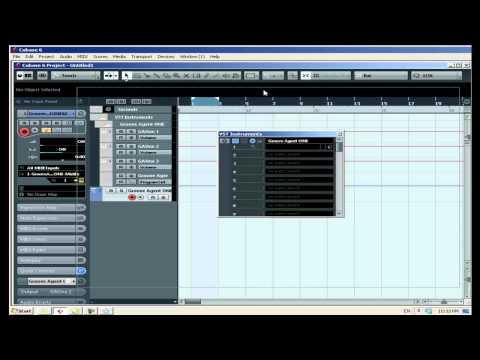 קיובייס 6 | cubase 6 – פיצול יציאות אודיו של VSTi – קורס לימודי CUBASE קיובייס במכללת BPM
