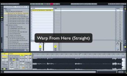 וורפ ב60 שניות | טיפים ל- Ableton Live // מכללת BPM