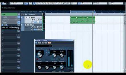 """קיובייס 6 – הוספת כח ל-Bass Drum ע""""י Side Chain – קורס לימודי CUBASE קיובייס במכללת BPM"""