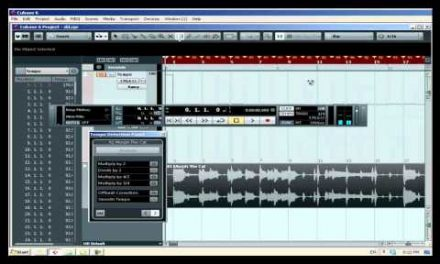 קיובייס 6 – מציאת טמפו של שיר שלם – קורס לימודי CUBASE קיובייס במכללת BPM