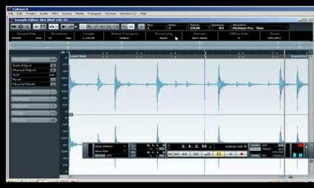 קיובייס 6 – מציאת טמפו של אודיו – קורס לימודי CUBASE קיובייס במכללת BPM