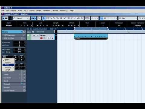 קיובייס 6 – Humanize MIDI Drums – קורס לימודי CUBASE קיובייס במכללת BPM