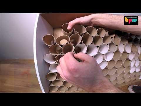 DIY 04 : איך ליצור מתקן ממוחזר לכבלים